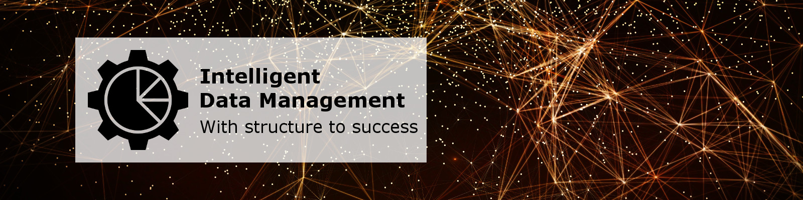 Intelligent Data Management Banner